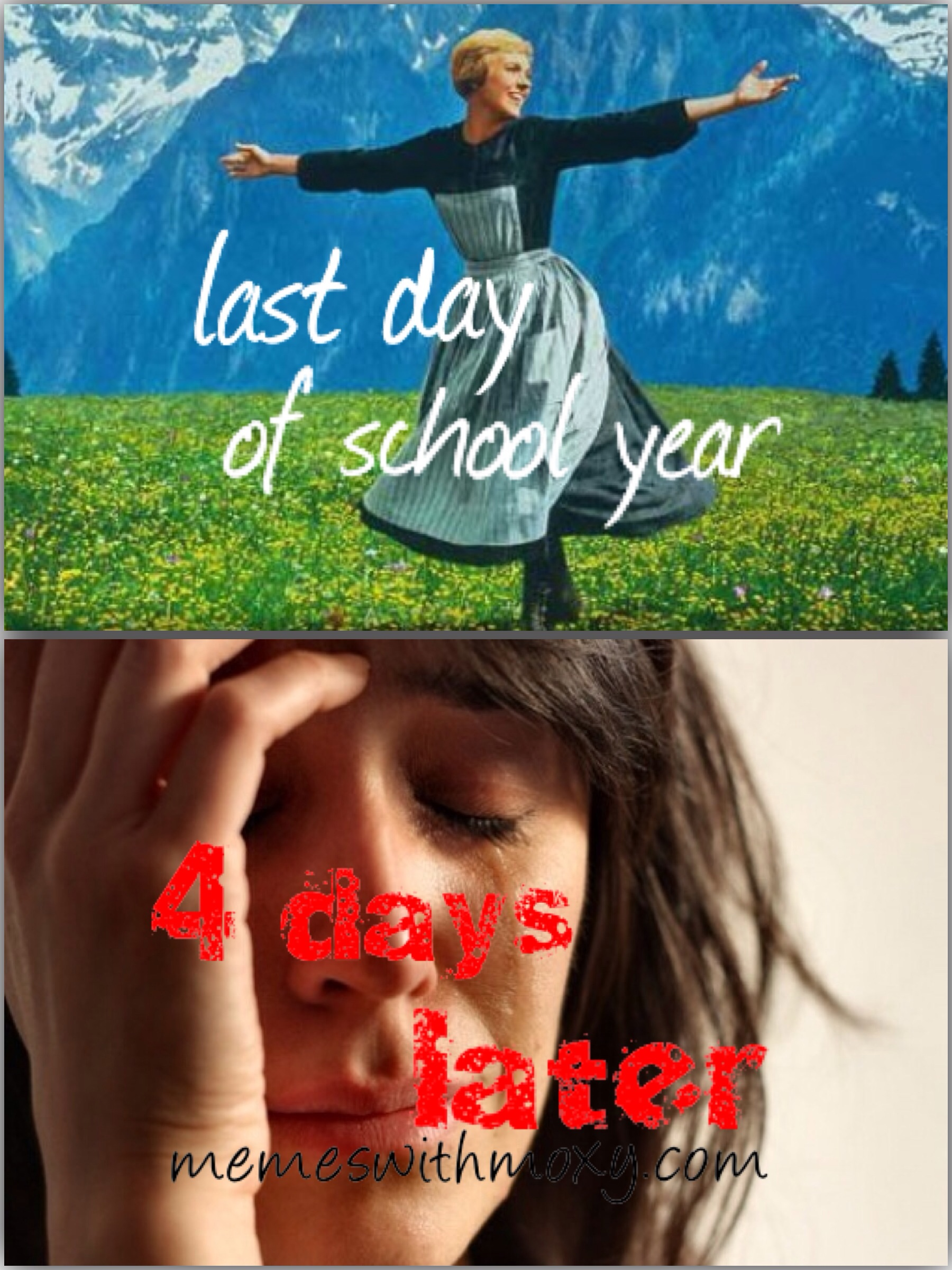 When does school start again? | Memes with Moxy